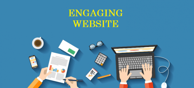 Engaging Website